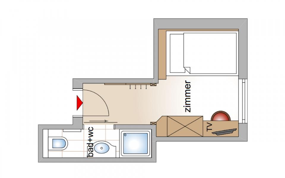 Einzelzimmer Gerlosbach